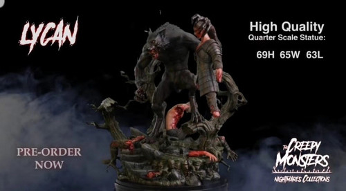 【Pre-order】Dream Figures Studio errorist monster Werewolf resin statue