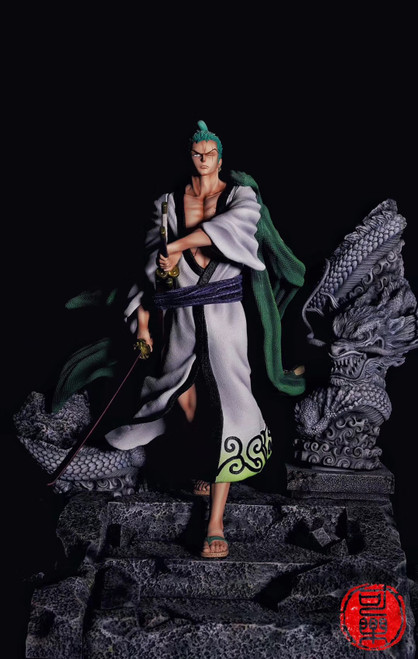 【PRE-ORDER】COKE Studio Roronoa Zoro  1:4&1:6resin statue