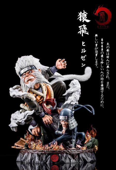 【PRE-ORDER】Longhu Studio SD Scale Sarutobi Hiruzen resin statue