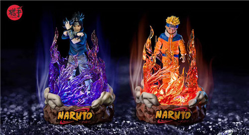 【Pre-order】Hunter studio Naruto &Sasuke resin statue