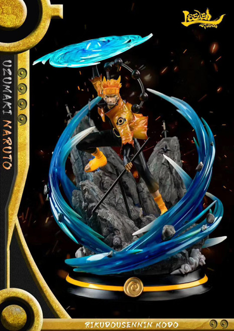 【PRE-ORDER】LSEVEN studio  Rikudousennin Modo Naruto resin statue LED