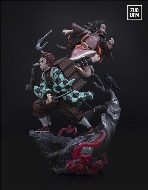 【PRE-ORDER】ZUOBAN Studio Demon Slayer Tanjirou & Nezuko 1/6 scale resin statue