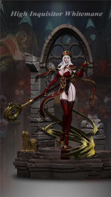 【PRE-ORDER】LengShi Studio World of Warcraft Sally Whitemane 1/5 scale resin statue