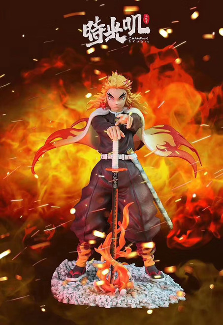 【PRE-ORDER】Champion Studio Demon Slayer Rengoku Kyoujurou  1/6 scale resin statue