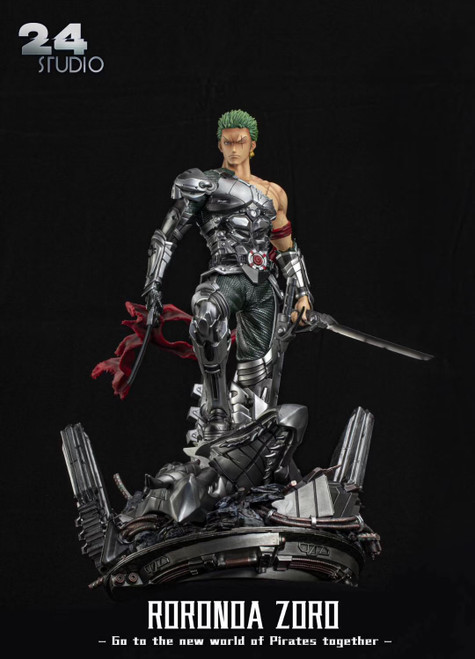 【PRE-ORDER】24 Studio Roronoa Zoro  ONE PIECE 1/6&1/4 scale  resin statue