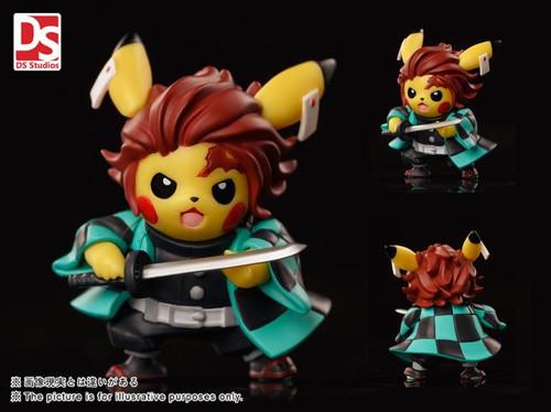 【PRE-ORDER】DS Studio Demon Slayer pikachu  resin statue