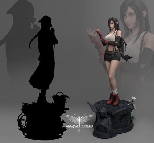 【PRE-ORDER】Mayflies Studio  FF7 TifaLockheart resin statue