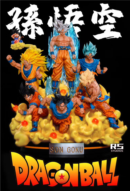 【PER-DRDER】RS STUDIO GOKU FULL SET 1/7Scale  resion statue