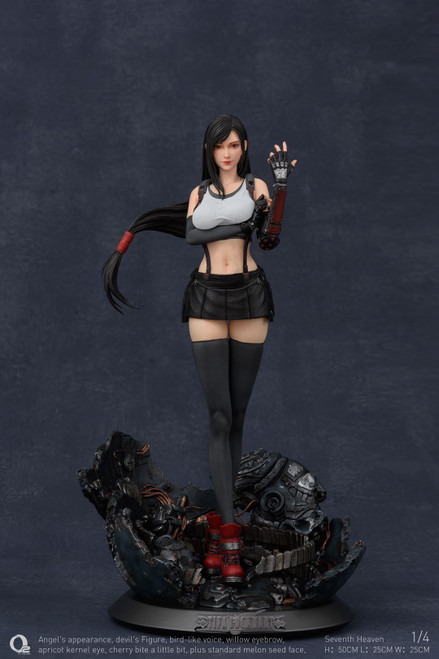 【PRE-ORDER】O² STUDIO 1:4 Scale TIFA Fighting goddess resin statue
