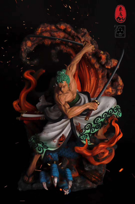 【PRE-ORDER】LC.Studio   ONE PIECE Ghost Island ZORO 1/4&1/6 scale resin statue