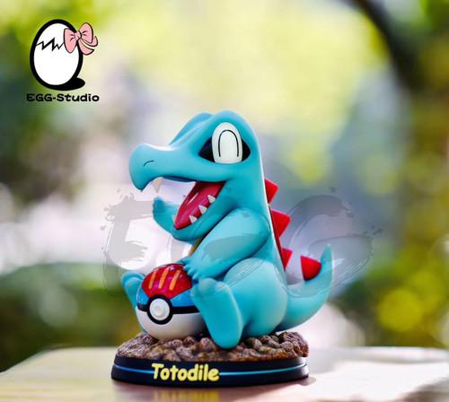 【PRE-ORDER】EGG studio  Pokémon Totodile  resin statue