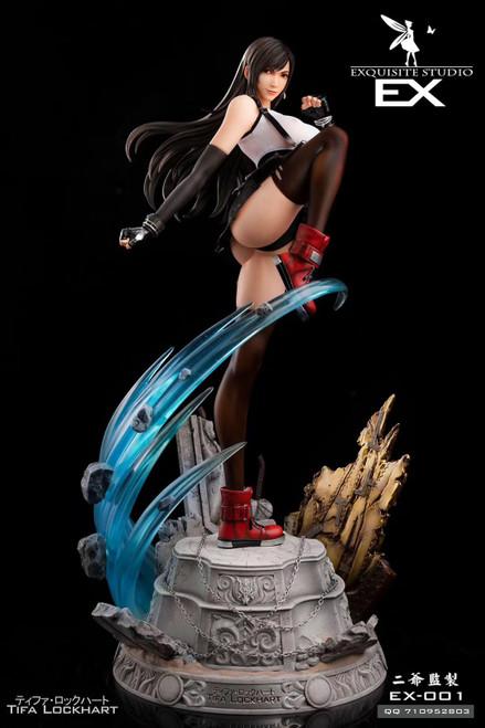 【PRE-ORDER】EXQUITE STUDIO Fantasy comba 1/4 scale Tifa Lockhart  resin statue
