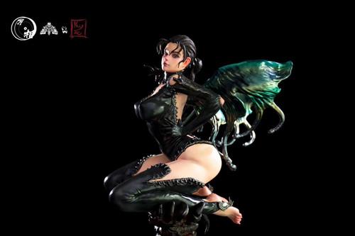 【PRE-ORDER】Wanxiang Studio Devil  Heart swallowtail resin statue