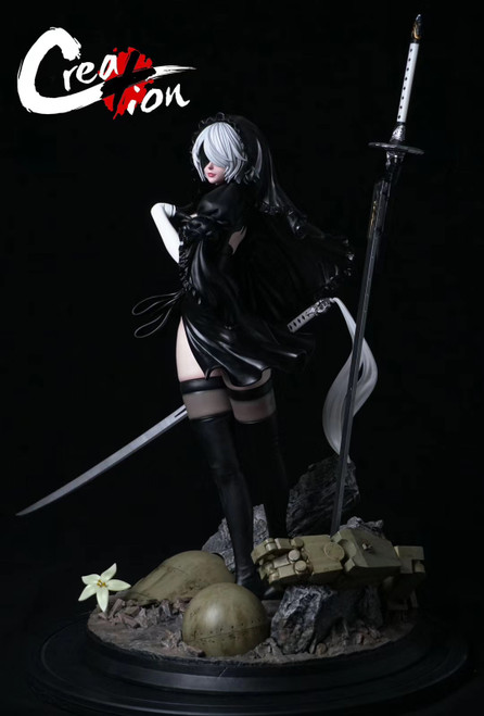 【PRE-ORDER】Creation-Studio  NieR:Automata YoRHa No.2 Type B resin statue