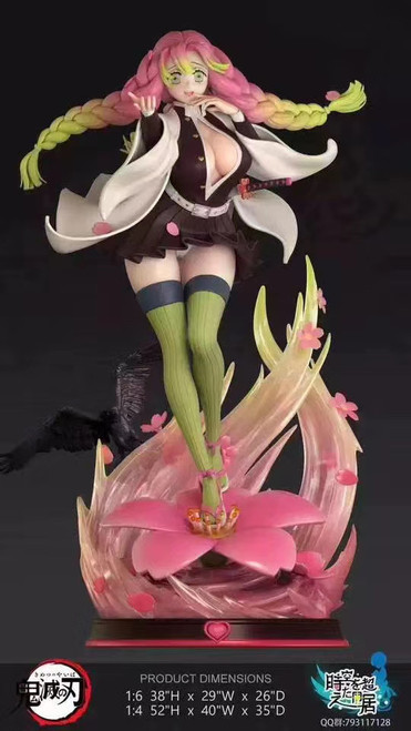 【PRE-ORDER】Macros studio Demon Slayer Kanroji Mitsuri 1/6&1/4 resin statue