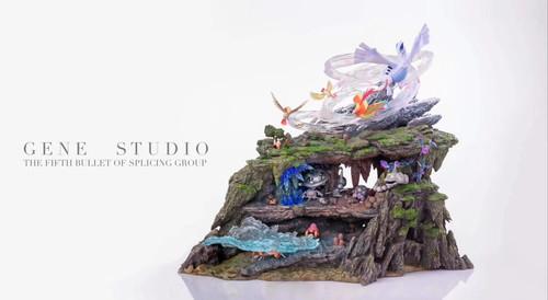 【PRE-ORDER】GENE studio  the fifth bullet of splicing group pokemon resin statue