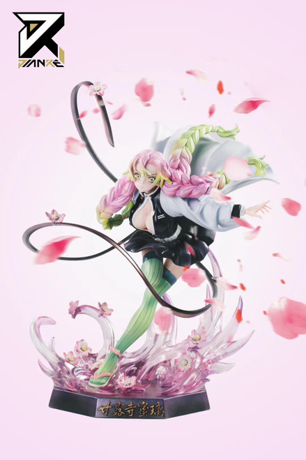 Pre Order Macros Studio Demon Slayer Kanroji Mitsuri 1 6 1 4 Resin Statue Fnc Store Mitsuri whispering to tanjiro to find the secret weapon. macros studio demon slayer kanroji