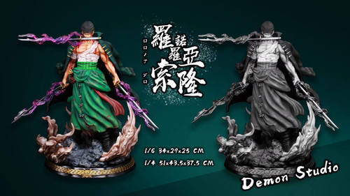 【PRE-ORDER】Demon Studio Zoro ONE PIECE 1/6&1/4 resin statue