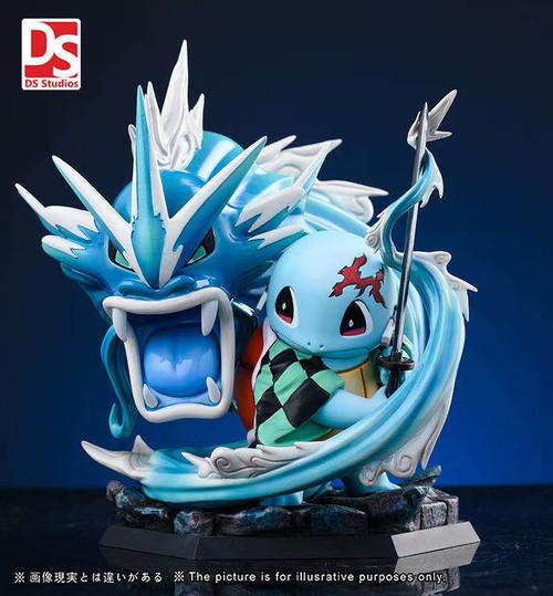 【PRE-ORDER】DS Studio Demon Slayer Squirtle resin statue