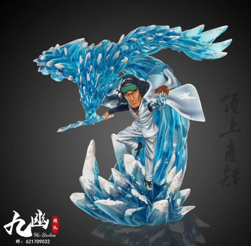 【PRE-ORDER】96-Studios Kuzan WCF scale   ONE PIECE resin statue
