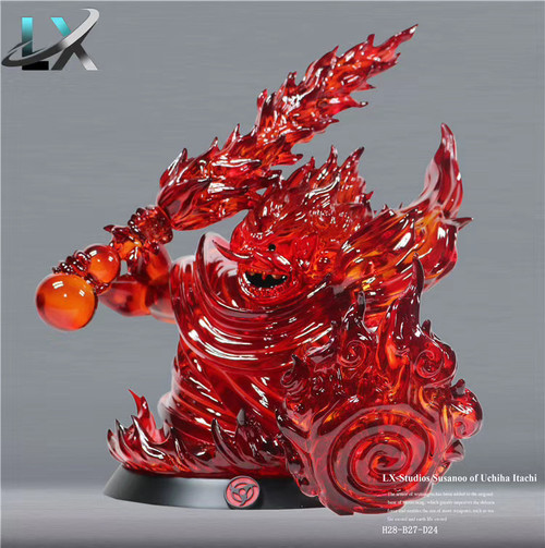【PRE-ORDER】LX-Studios NARUTO  Sasuke resin statue With LED