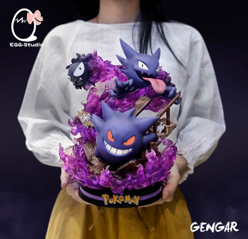 【PRE-ORDER】EGG STUDIO Gastly  Pokémon resin statue