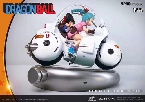 【PRE-ORDER】5PRO Studio  Bulma  capsule locomotive NO.9  1/6 scale resin statue