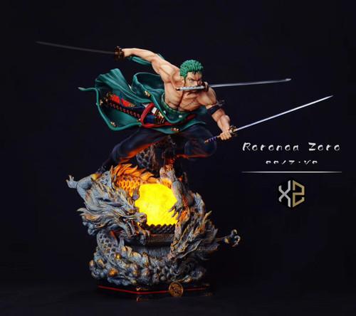 【PRE-ORDER】XZ-Studios Roronoa Zoro resin ONE PIECE statue 1/6&1/4 scale