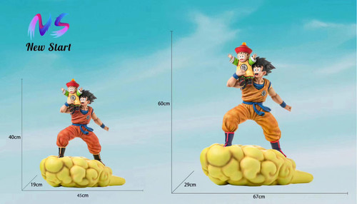 【PRE-ORDER】New start-Studios Father and son 1/4 &1/6 scale  Goku resin statue