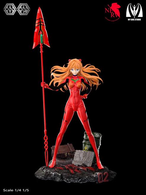 【PRE-ORDER】My Girl studio   EVANGELION-02 Asuka Langley Soryu resin statue