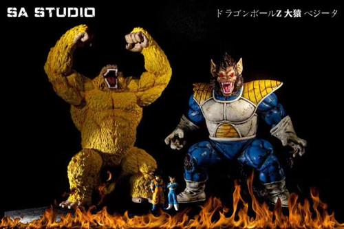 【PRE-ORDER】SA STUDIO  Vegeta Goku resin statue