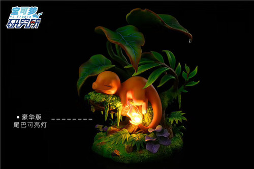 【PRE-ORDER】PL studio Charmander in Sleep  resin statue