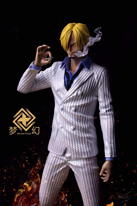 【IN-STOCK】DREAM-Studio Sanji 1:5 resin statue White Color