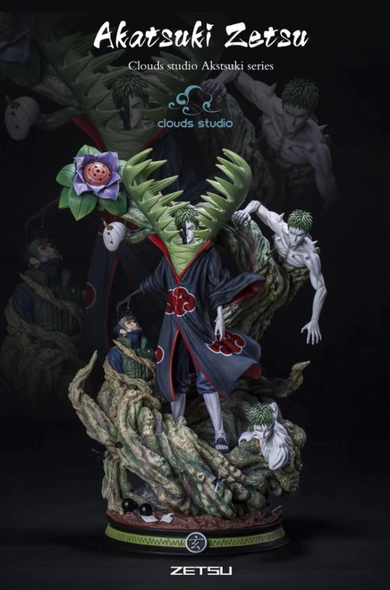 【PRE-ORDER】Cloudsstudio  Akatsuki Zetsu resin statue