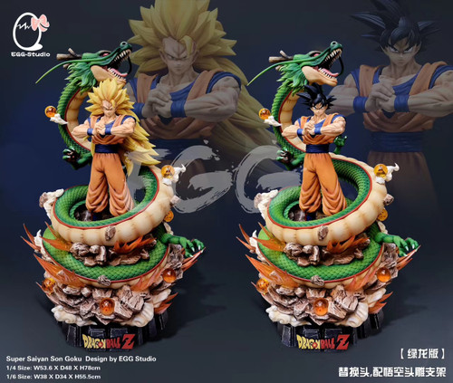 【PRE-ORDER】EGG studio  Shenron  Goku  Dragon Ball resin statue