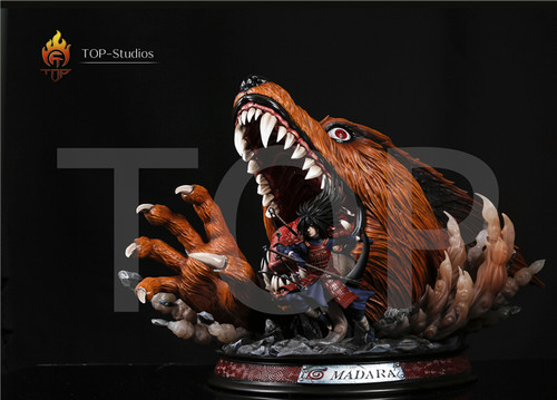 【IN-STOCK】Naruto resin statues TOP stuido Madara with LED