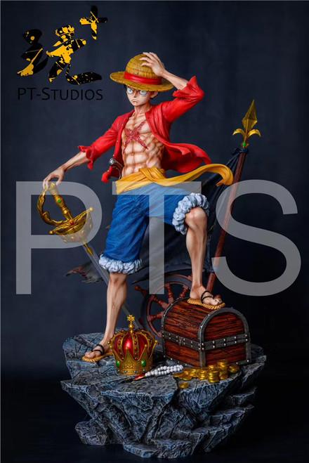 【PRE-ORDER】PT-Studios  LUFFY resin statue 1/6 & 1/4 scale