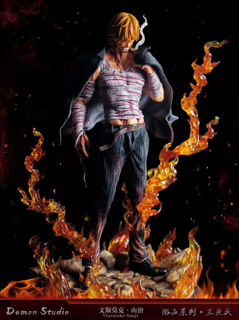 【PRE-ORDER】Demon Studio  Vinsmoke Sanji ONE PIECE resin statue