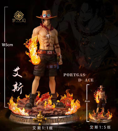 【PRE-ORDER】DREAM STUDIO Portgas·D· Ace 1/1 scale resin statue