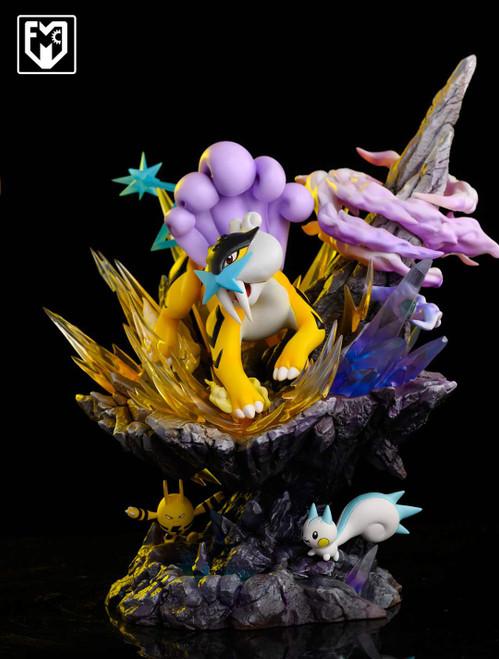 【PRE-ORDER】MFC studio Raikou  Pokémon resin statue