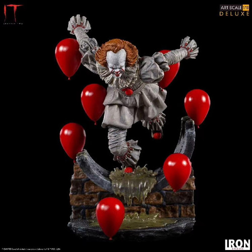 "【PRE-ORDER】Iron Studios ""It: Chapter Two "" Pennywise resin statue 1/10 scale"
