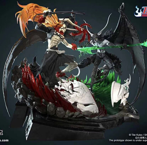 【PRE-ORDER】 Figurama Studio  ichigo VS cifer resin statue 1/6 scale