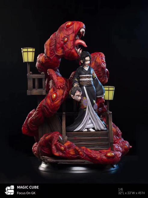 【Pre-order】MAGIC  CUBE Kibutsuji Muzan  1/6  resin statue