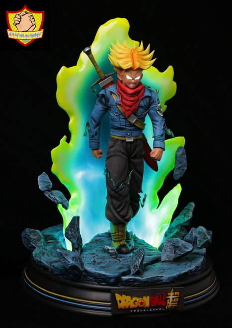 【IN-STOCK】Dynamic Studio Super Saiyan Rage Trunks 1:4 scale