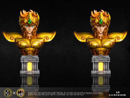 【PRE-ORDER】XS-Studios&AX-Studios   Aiolia  Saint Seiya resin statue 1/5 scale  with LED