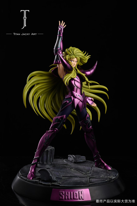【IN-STOCK】Titan Jacky Art Shion resin statue with Effect