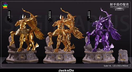 【PRE-ORDER】JacksDo studio  Gold Saint  Sagittarius 1/6 scale