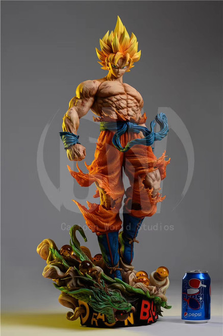 【PRE-ORDER】Cartoon World Studios goku  resin statue
