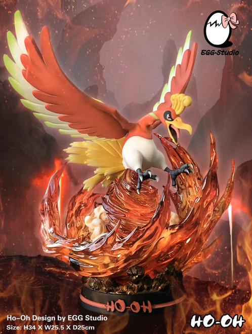 【PRE-ORDER】EGG Studio Ho-Oh Pokémon resin statue