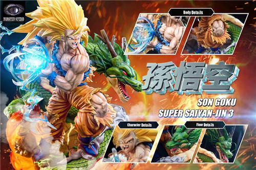 【PRE-ORDER】Monster Studio  Dragon Ball Super Saiyan Goku 1/6 scale